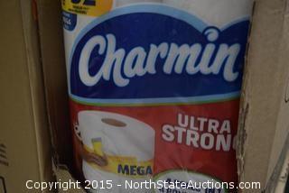 6 Boxes of Charmin Bathroom Tissue