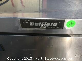 Delfield Under Counter Commercial Refrigerator