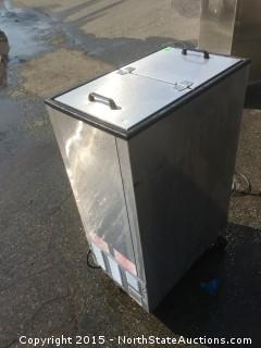 Siler King commercial freezer,  Coolie Ice Cream Dipping Cabinet, Free-Standing Underbar