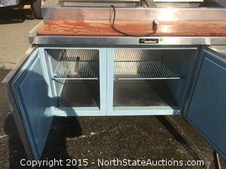 Delfield Stainless Steel Refrigerated  Prep Table