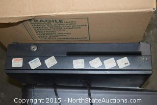 Bissell Hybrid Vac, Shreder, Cash Register, Receipt Printer