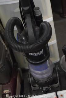 Hoover Steam Cleaner, Bed Frame, Eureka Vac, Tower Fan, 3 Lamps, Storage Bins, Heater