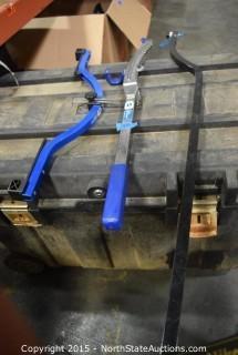 Bicycle Tube Straightener, Frame Alignment Gauge