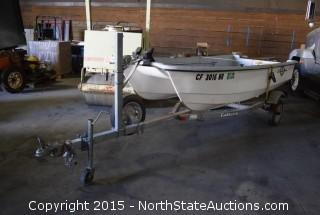 Livingston 12' Fishing Boat