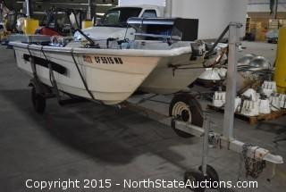 Livingston 14' Fishing Boat with Gear