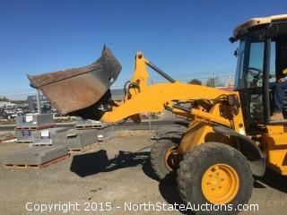 JC Bamford 407, Articulated Loader, 2004,  3830 Hours