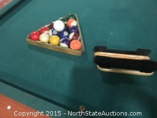Pool Table Dynamo Coin Operated