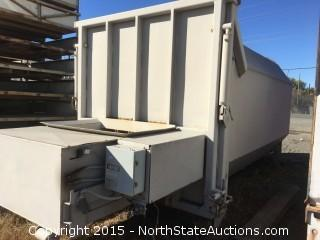 Self Contained Trash Compactor Global 25 CY