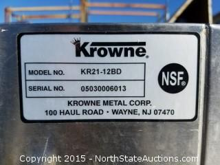 Krowne KR21-12BD Stainless Steel Washing Sink
