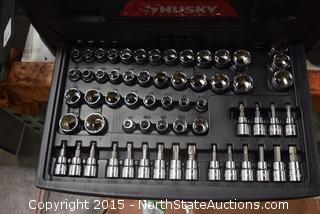 Husky Toolbox and Tool Set