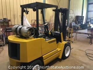 Clark forkligt CG30, Propane Powered, Pneumatic Tires, 6000lb capacity