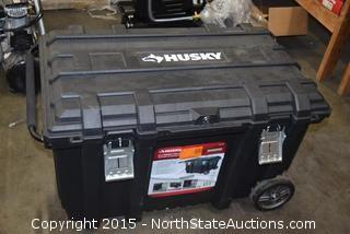 "Husky 37""Mobile Job Box"