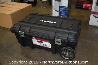 Husky 25-Gallon Mobile Job Box
