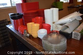 Mixed Lot of Serving Items