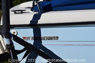 1972 ThunderBird Ski Boat