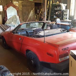1979 Triumph TR 7 Convertible