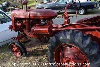 International Harvester Row Tractor