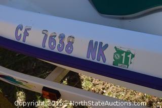 Sea 400 THX Jet ski