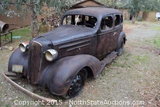 1930's Chevy 4 Door Sedan
