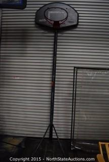 Adjustable Basketball Backboard/Hoop
