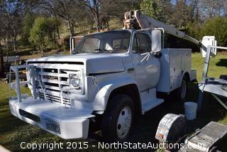 GMC 6000 Boom Truck