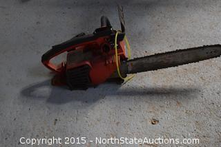 Homelite Gas-Powered Chain Saw