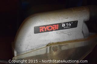 """Ryobi 8 1/4"""" Radial Arm Saw"""