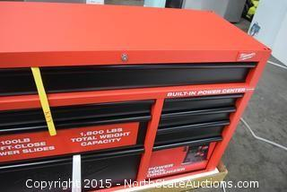 "Milwaukee 46"" Rolling Steel Tool Box"