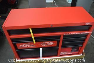 "Milwaukee 46"" Rolling Steel Storage Cabinet"