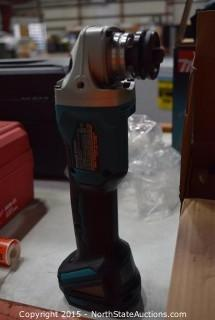 "Makita LXT Brushless 4 1/2""/5"" Cut-off/ Angle Grinder"