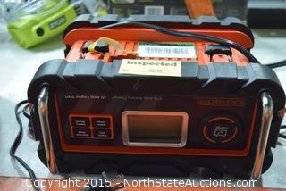 Black and Decker Battery Charger/Starter
