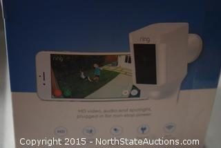 Ring Wired Outdoor Security Spotlight and Cam