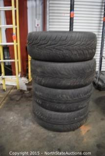 Set of 4 Hankook Tires