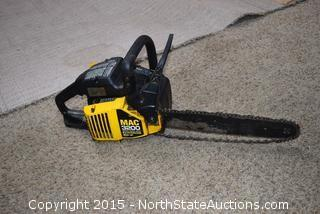 McCullough MAC3200 Chainsaw