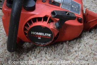 Gas Powered Homelite Little Red XL