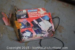 Plasplugs Power Master Diamond Wheel Wet Saw