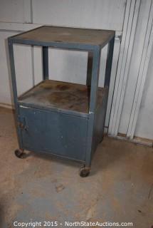 Rolling Shop Cabinet/Cart