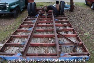 18' Truck Frame Bed