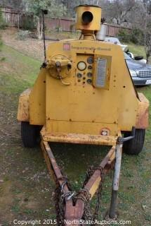 Ingersoll-Rand Air Compressor Trailer Unit
