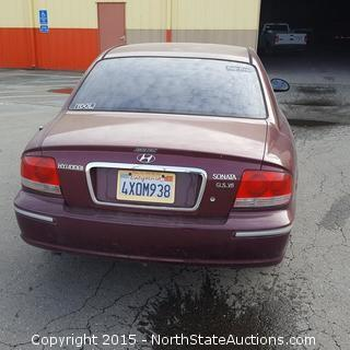 2002 Hyundai Sonata 4-Door Sedan