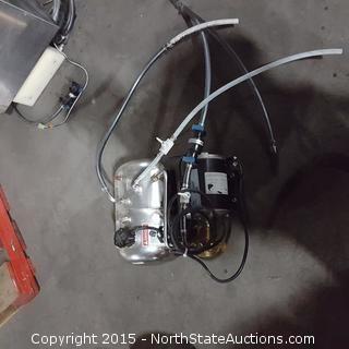 Soda Machine Booster Pump