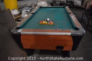 Dynamo Coin Operated Pool Table