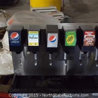 Commercial Soda Vending Machine