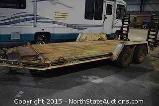 1992 Trail King 2-Axle Trailer