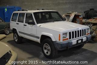 2001 Jeep Cherokee Sport - Parts Only