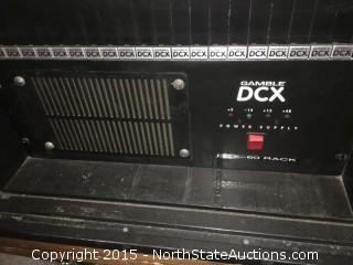 Gamble DCX 60 console system