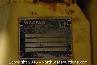 Wacker Vibrating Roller