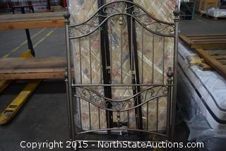 Decorative Metal Bedstead Headboard