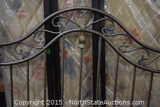 Decorative Metal Bedstead Headboard