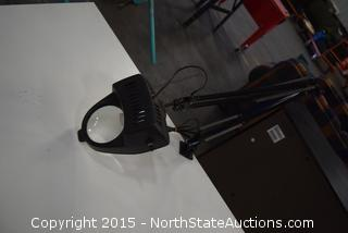 Drafting Table, Light, Stool